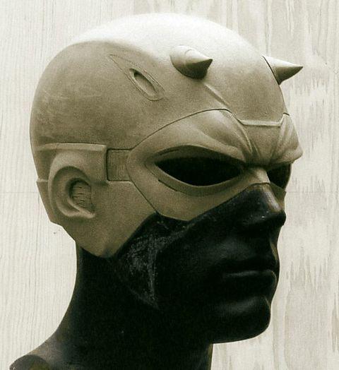 Daredevil Cowl and mask sculpt   SCULPTACULAR in 2019 ...