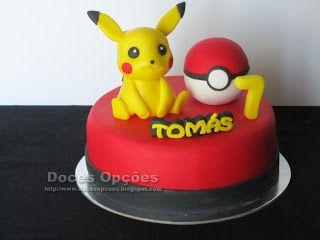 Doces Opções: O Pikachu no 7º aniversário do Tomás