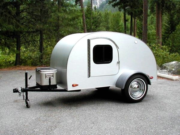 Teardrop trailer. An updated classic! My Rugged, yet
