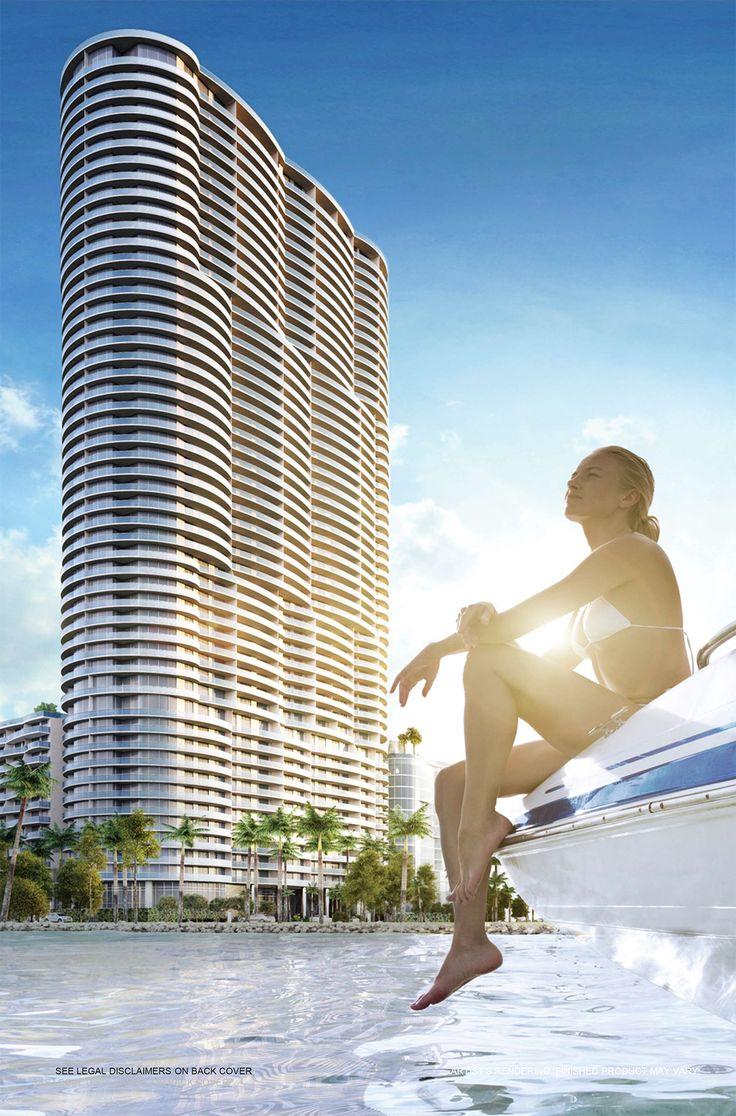 ARIA ON THE BAY: Simplemente espectacular #SantiagoElegante_AriaOnTheBay #SantiagoElegante #RealEstate #DesignDistrictMiami  #Miami