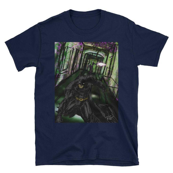 Batman and Joker Short-Sleeve Unisex T-Shirt