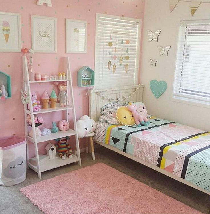 Best 25 toddler girl beds ideas on pinterest toddler rooms little girl rooms and house beds - Colors for kids room ...