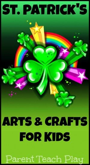 St. Patrick's Day Arts and Crafts for kids
