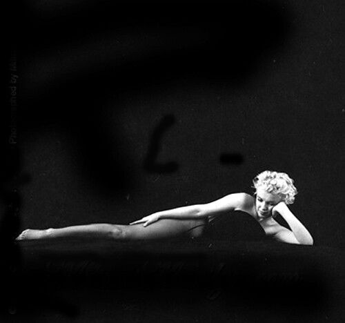 Marilyn Monroe ~ Black sitting. Photographed by Milton Greene, 1956.