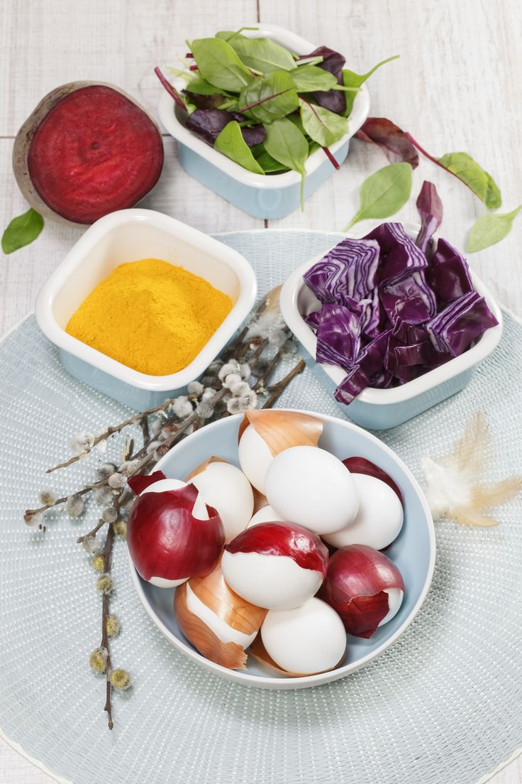 Bunte Ostereier ohne Chemie? – das geht! Färben Sie Eier einfach mit natürlichen Produkten aus der Küche.#Ostereier#Ostereierfärben#Ostern