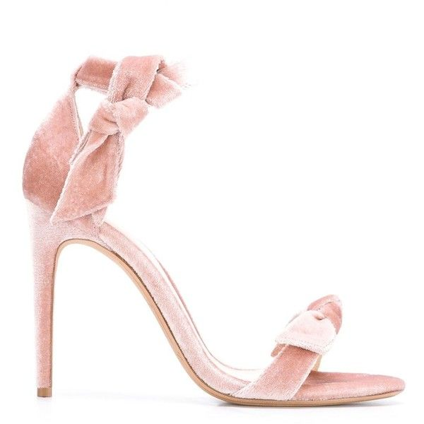 Alexandre Birman 'Clarita' sandals (£535) ❤ liked on Polyvore featuring shoes, sandals, alexandre birman sandals, alexandre birman shoes, pink shoes, pink sandals and alexandre birman
