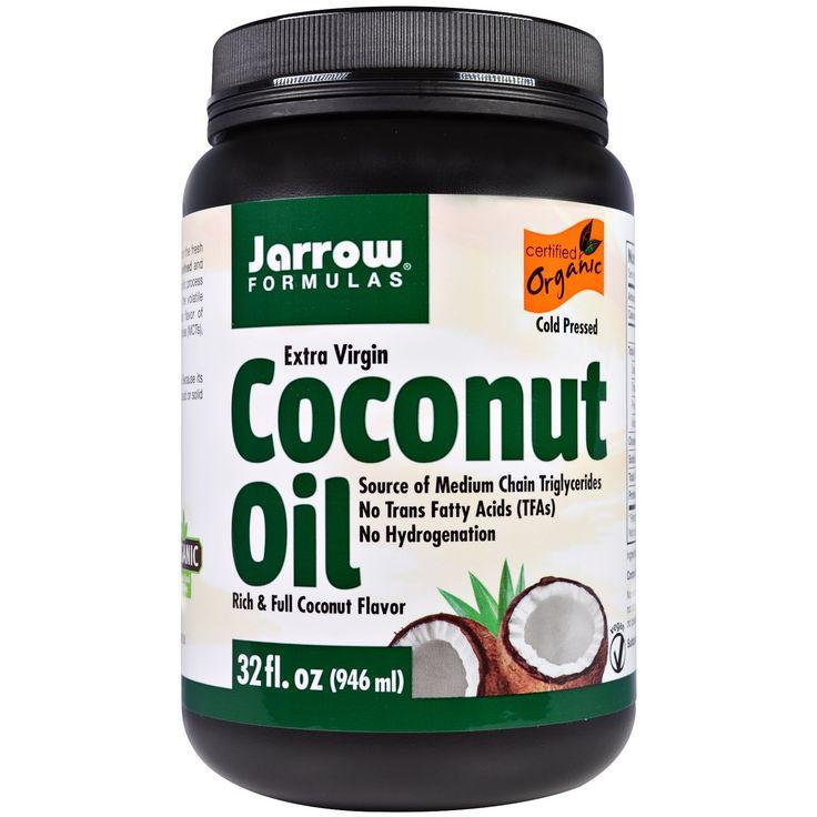 Jarrow Formulas, Натуральное кокосовое масло высокой степени очистки, 32 унции (946г)