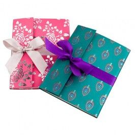 A lovely stocking filler for a female relative this Christmas.  Choose from pink or turquoise design.