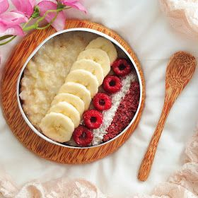 Naturally Meghan   A vegan lifestyle and recipe blog: Basic Brown Rice Flake Porridge