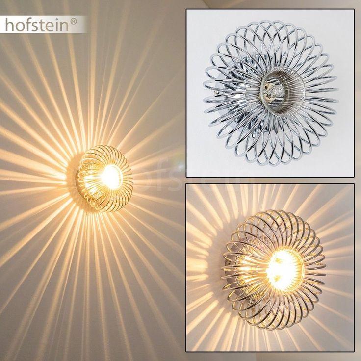 Design Wandlampe mit Schalter Flur Leuchte Küchen Schlaf Wohn Zimmer Wand Lampen