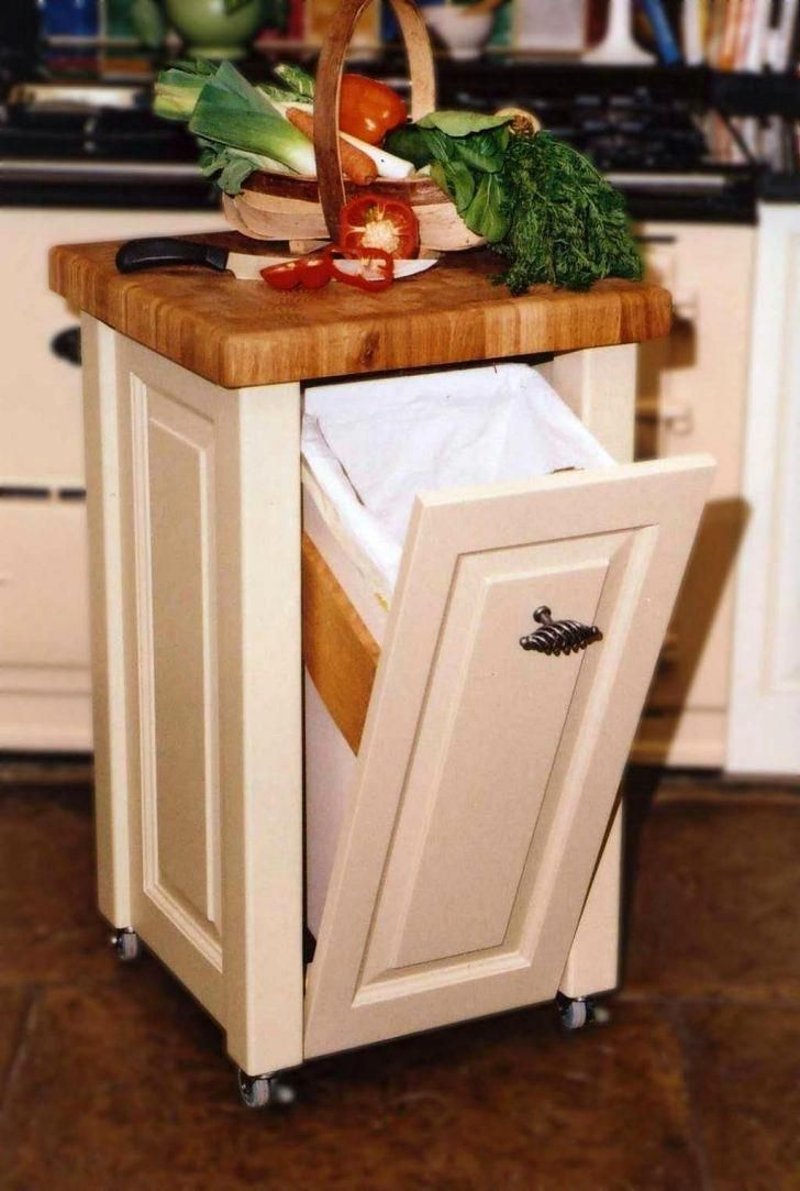 Adorable Small Movable Kitchen Island