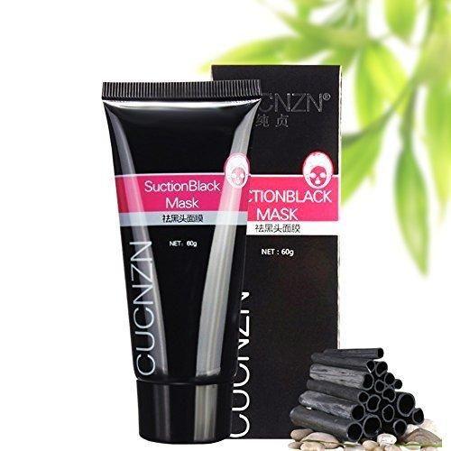 Sunten Blackhead Mask Natural Bamboo Charcoal Acne Treatment Blackhead Remover Nose Mask Acne Black Mud Face Mask Peel-off