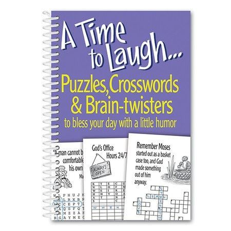 A Time to Laugh, Puzzles, Crosswords and Brain Twisters