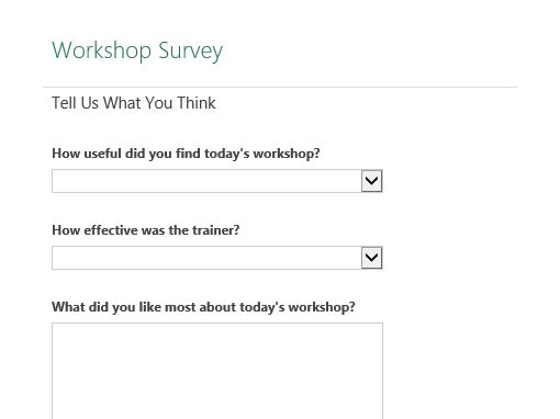 Workshop survey Podemos poner plantillas de mails de convocatorias, calendarios para organizarse, encuestas de satisfaccion, contratos con informantes,