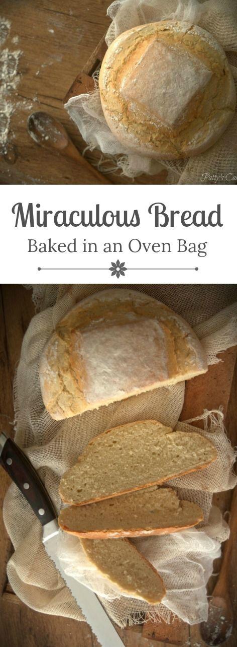 Pan milagro - horneado en bolsa - hecho en menos de 1 hora - paso a paso Patty's Cake (English recipe included)