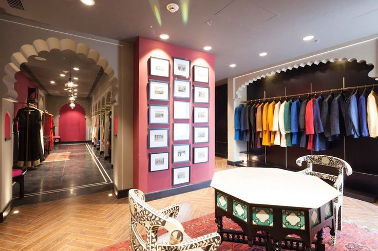 Store Interiors Anita Dongre Flagship Store At Dlf