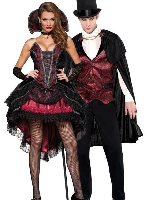 Vampire Vixen and Blood Count Vampire Couples Costumes - Party City