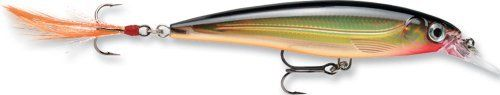 Rapala X-Rap Jerkbait 10 Fishing lure (Gold, Size- 4) by Rapala. $8.94. The adrenaline-pumping X-rap slashbait has Xtreme attitude with its hard-cutting, aggressive darting action. The integrated long-casting system partners with an irresistible rattle and classic rapala action. Weighs .4375 Oz. It suspends and comes to a roll at rest to trigger the bite. Running depth: 3-8 feet. The adrenaline-pumping X-Rap slashbait has Xtreme attitude with its hard-cutting, aggressive darting...