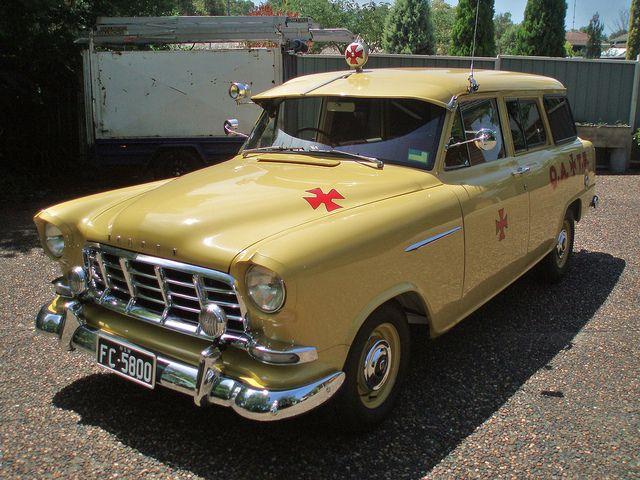 1958 Holden FC ambulance