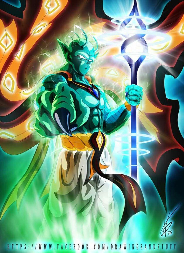 Piccolo the Namekian God | Dragon ball art, Dragon ball ...