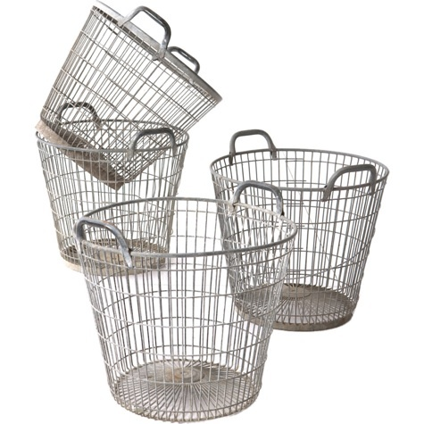 French oyster baskets, $250 each. Much cheaper at www.thecleverhampercompany.co.uk