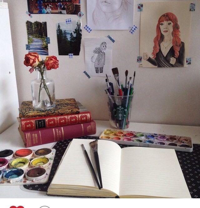 Teenage Bedroom Decor Diy Bedroom Colors And Designs Bedroom Ideas For Boys Bedroom Ceiling Wallpaper: 25+ Best Artist Bedroom Ideas On Pinterest