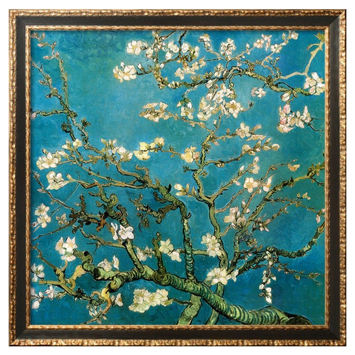 Van Gogh, Almond Branches in Bloom -  One of my all time favorites