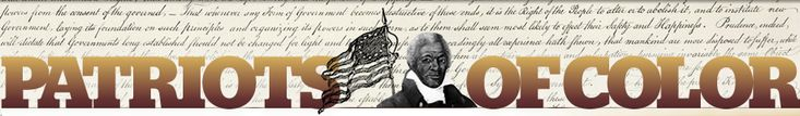 From the very beginning to the end of the Revolutionary War, men and women of color fought for American independence as soldiers, seamen, wagoners, skilled craftsmen, servants, laborers, etc. Revealing their identities and individual stories is the goal of our research efforts.