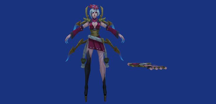 Blood moon Elise, human form