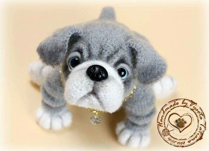 Amigurumi Perro Pug : 17 Best images about perro amigurumi on Pinterest ...