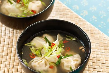 Dumpling soup – Recipes – Bite