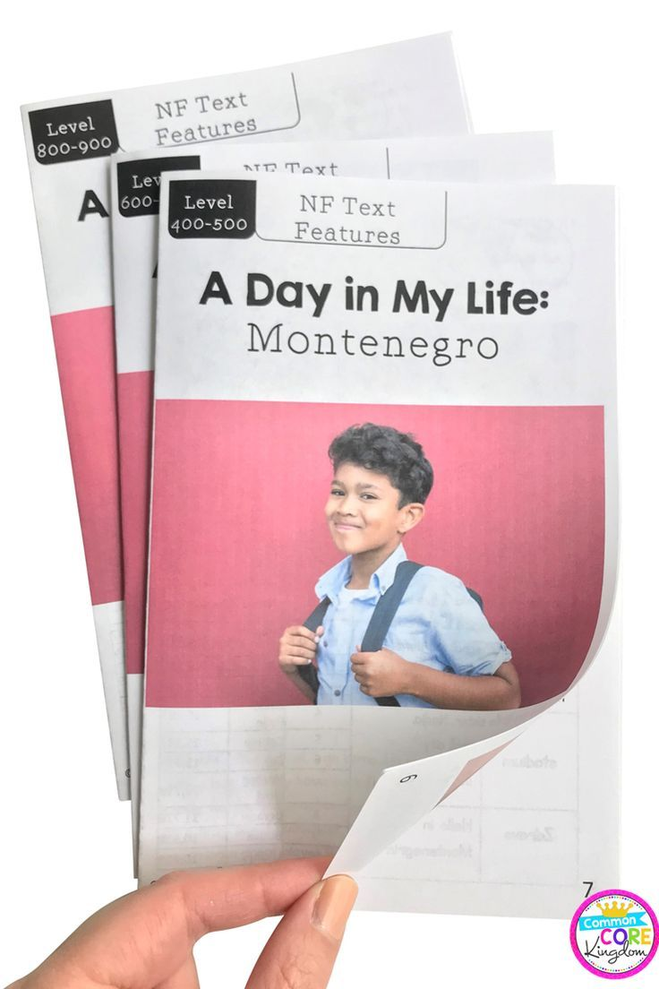 A Day In My Life Montenegro Differentiated Guided Reading Text