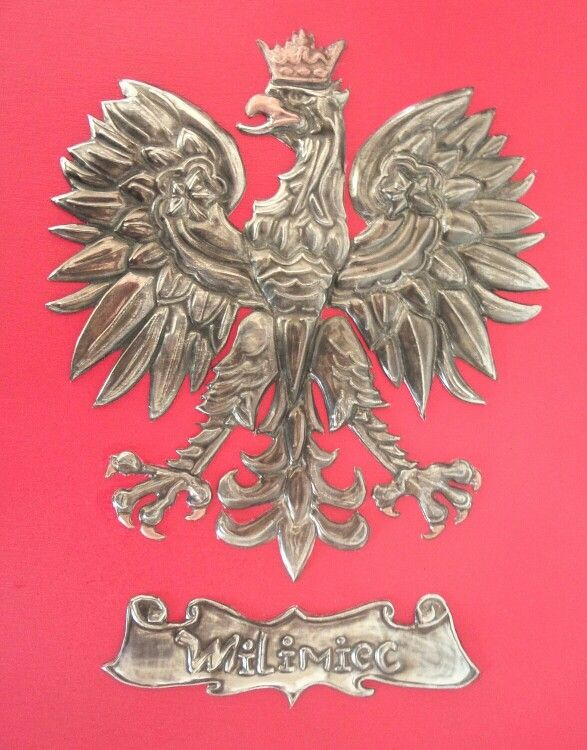 Polish Family crest - Hand crafted Pewter Att