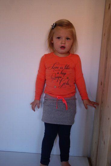 #Quapi #Annelin #Oranje -lot en Lynn Lifestyle  Met de #wintercollectie 2014/2015 van het merk #Quapi #Kidswear valt onderling weer goed te combineren.  www.lotenlynn.nl