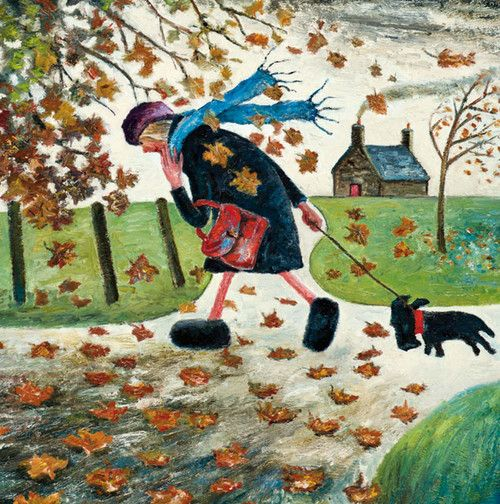 'It Was A Lovely Summer' ~ by Paul Robinson (autumn, fall, illustrations, art)