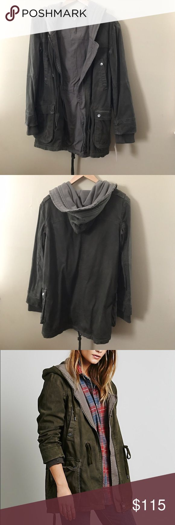 Free People - Solid Knit Mixed Cargo Army Jacket Free People - Solid Knit Mixed Cargo Army Jacket • Size XS • New with tags • Dark Olive color      Revolve clothing , Nordstrom , Shop bop , anthropologie , Urban Outfitters , Nasty Gal , ASOS ( stores for views ) Free People Jackets & Coats Utility Jackets
