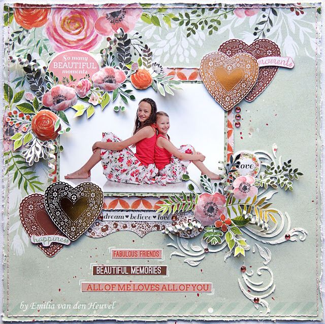 Kaisercraft True Love - Emilia van den Heuvel: BEAUTIFUL MEMORIES {kaisercraft & merly impressions}