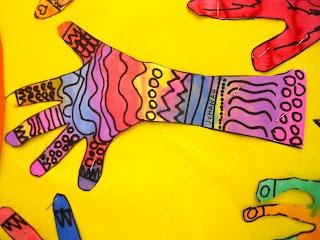 Princess Artypants: Patterned Hands