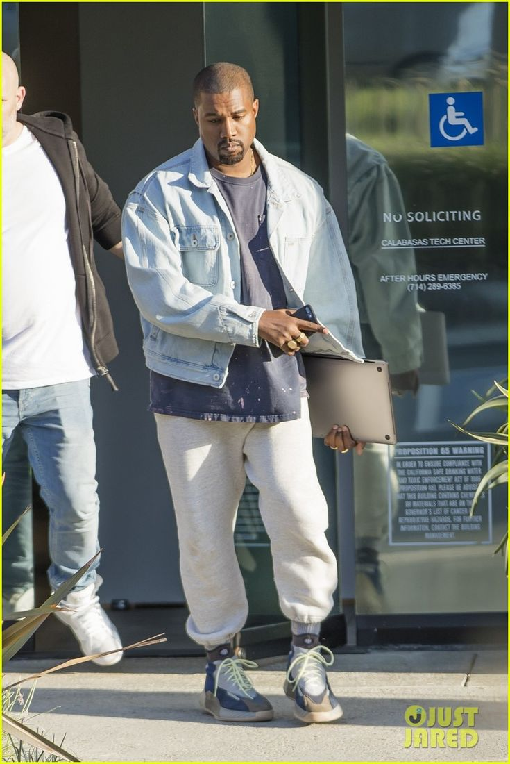 Kanye West Debuts Brand New Yeezy High Tops While Leaving His Fashion Studio! | kanye west yeezys 01 - Photo