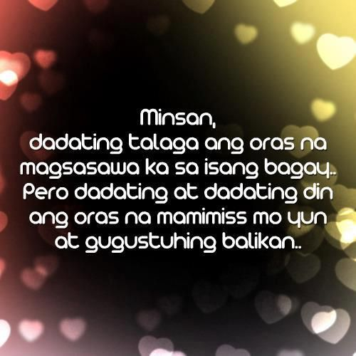 Best Sweet Tagalog Love Quotes Collections