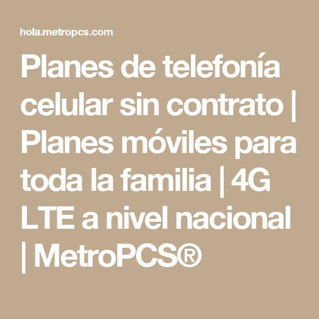 Planes de telefonía celular sin contrato | Planes móviles para toda la familia | 4G LTE a nivel nacional | MetroPCS®
