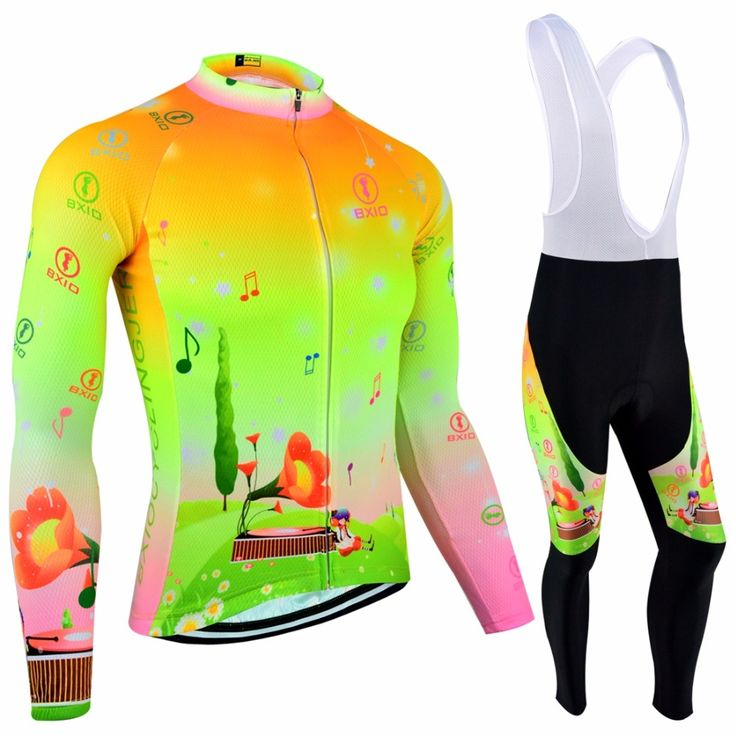 34.94$  Buy now - http://alinjw.shopchina.info/go.php?t=32747164865 - Bxio Women Cycling Jersey Sets Winter Cycling Clothing Women Mtb Uniforme Roupa Ciclismo De France Bike Jersey Bike Clothing 124  #magazineonline