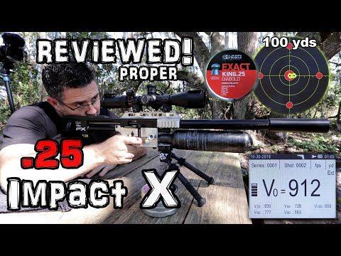 FX Impact X  25 - FULL REVIEW - YouTube | Airgun