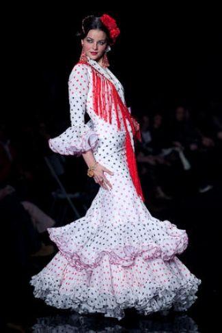 Traje de Flamenca - El-Ajoli - Simof-2009