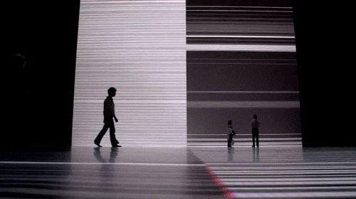 """nexus666: """" Ryoji Ikeda, The Transinfinite, Park Avenue Armory. New York, NY, 2012 """""""