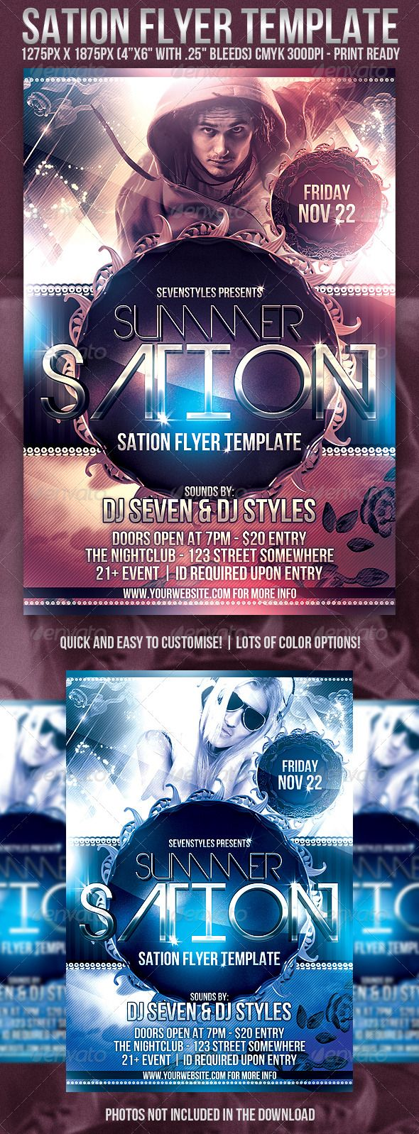 Best Dg  Flyers  Posters Images On   Flyer Design