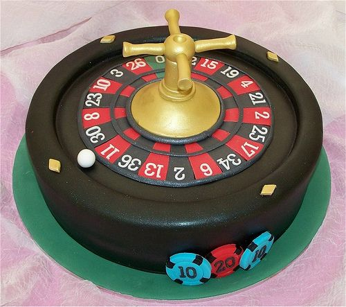 A cake for Tammi - Roulette!