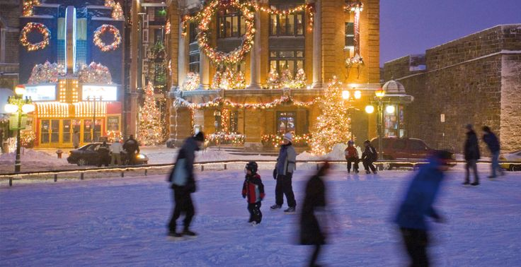 Christmas in Quebec City courtesy of Quebec City Tourism. This website highlights the many activities to do in Quebec City at Christmas.