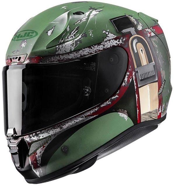 El casco de Boba Fett  HJC RPHA-11 Pro  es un pieza de edición limitada de Star Wars