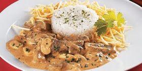 Chef Dopp's Cookbook: Estrogonofe de Carne (Brazilian Beef Stroganoff)